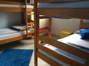 Habitación de cuatro personas - ALBERGUE LLANES PLAYA DE POO